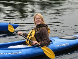 kayaking in Whitestone